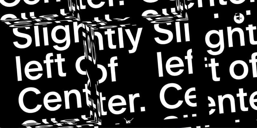 Abstract Typography – Slightly Left of Centre.png