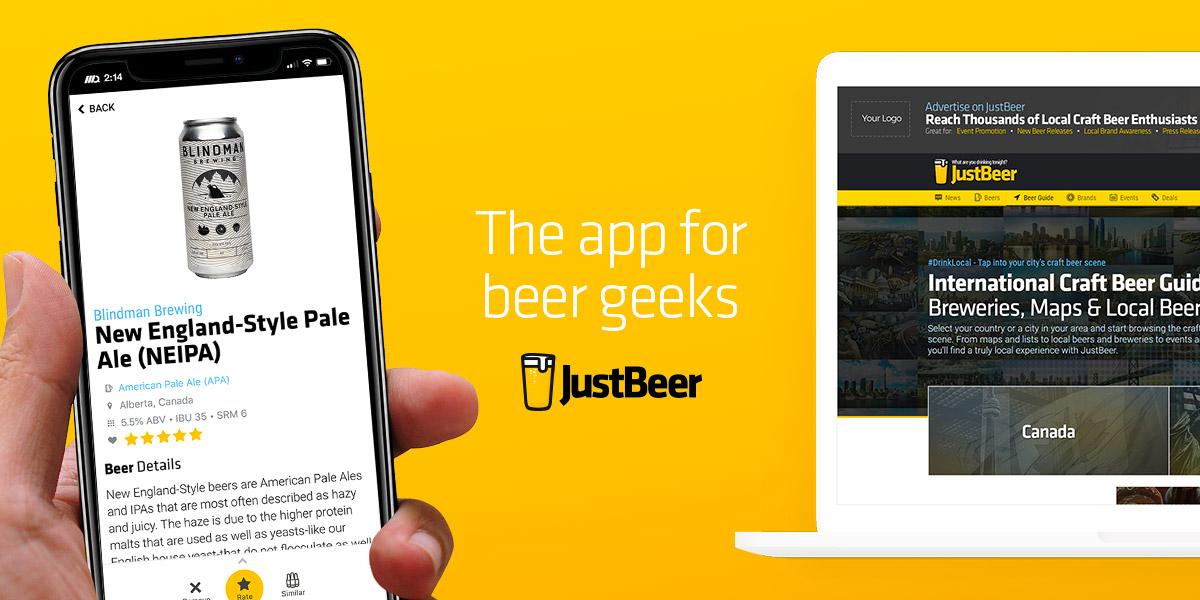 JustBeer - Online Resource for Craft Beer Enthusiasts