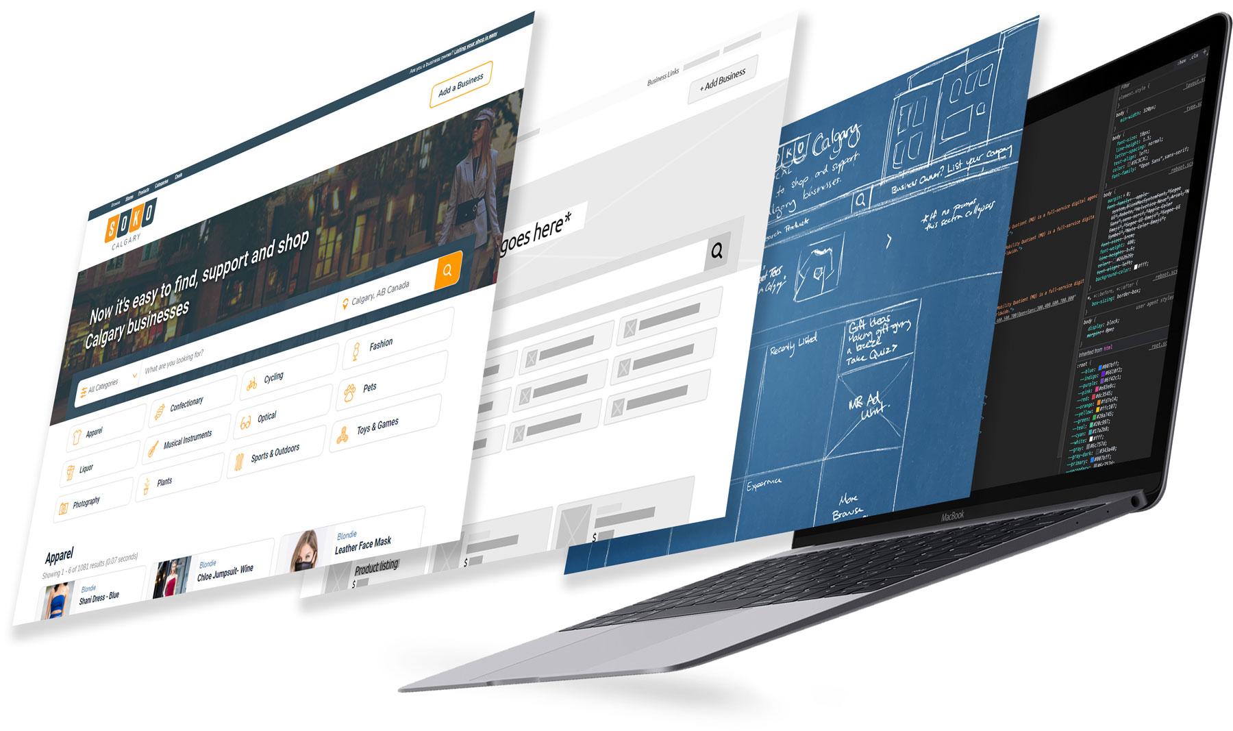 Website Development Agency Layers